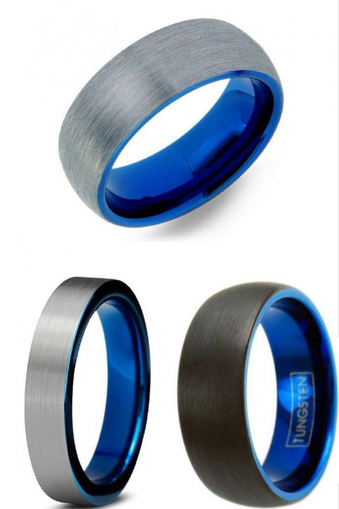 687x1030 Wedding Rings Mens Art Deco Rings Art Deco Mens Wedding Band