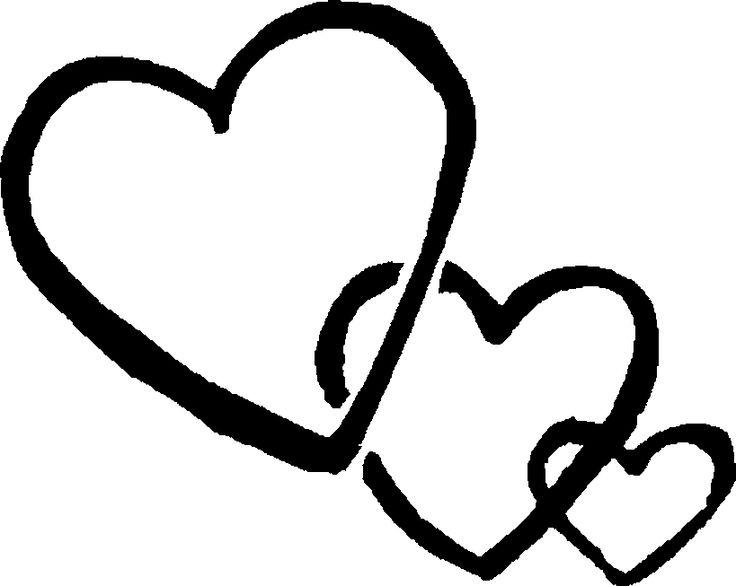 736x586 3 Hearts Linked Cliparts170006