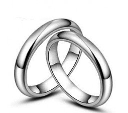 255x225 Couple Rings Promise Rings For Couples Couple Matching