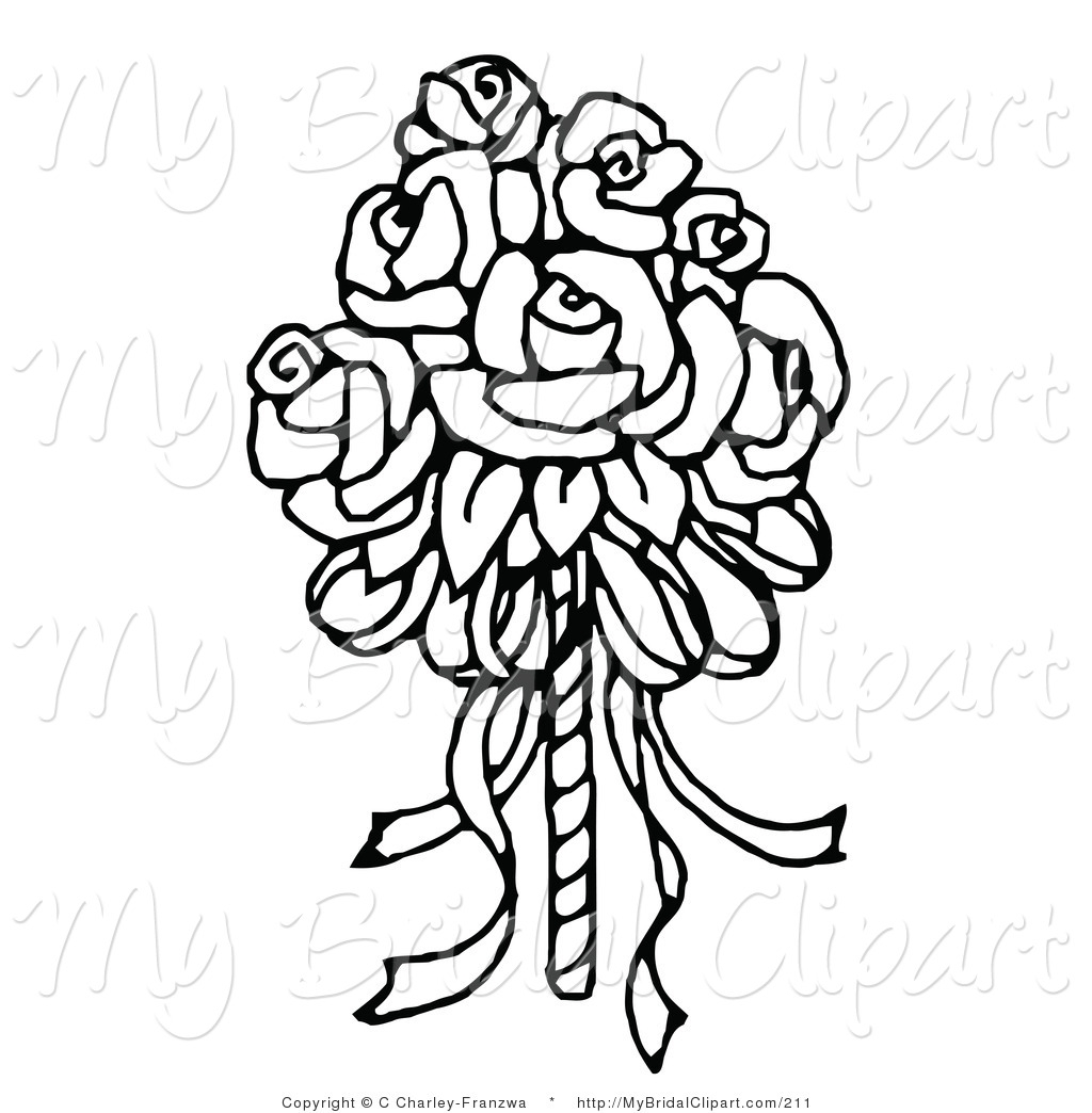 Wedding Rose Clipart Free Download Best Wedding Rose Clipart On