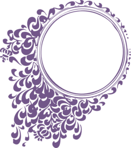 264x297 Wedding Scroll Clip Art