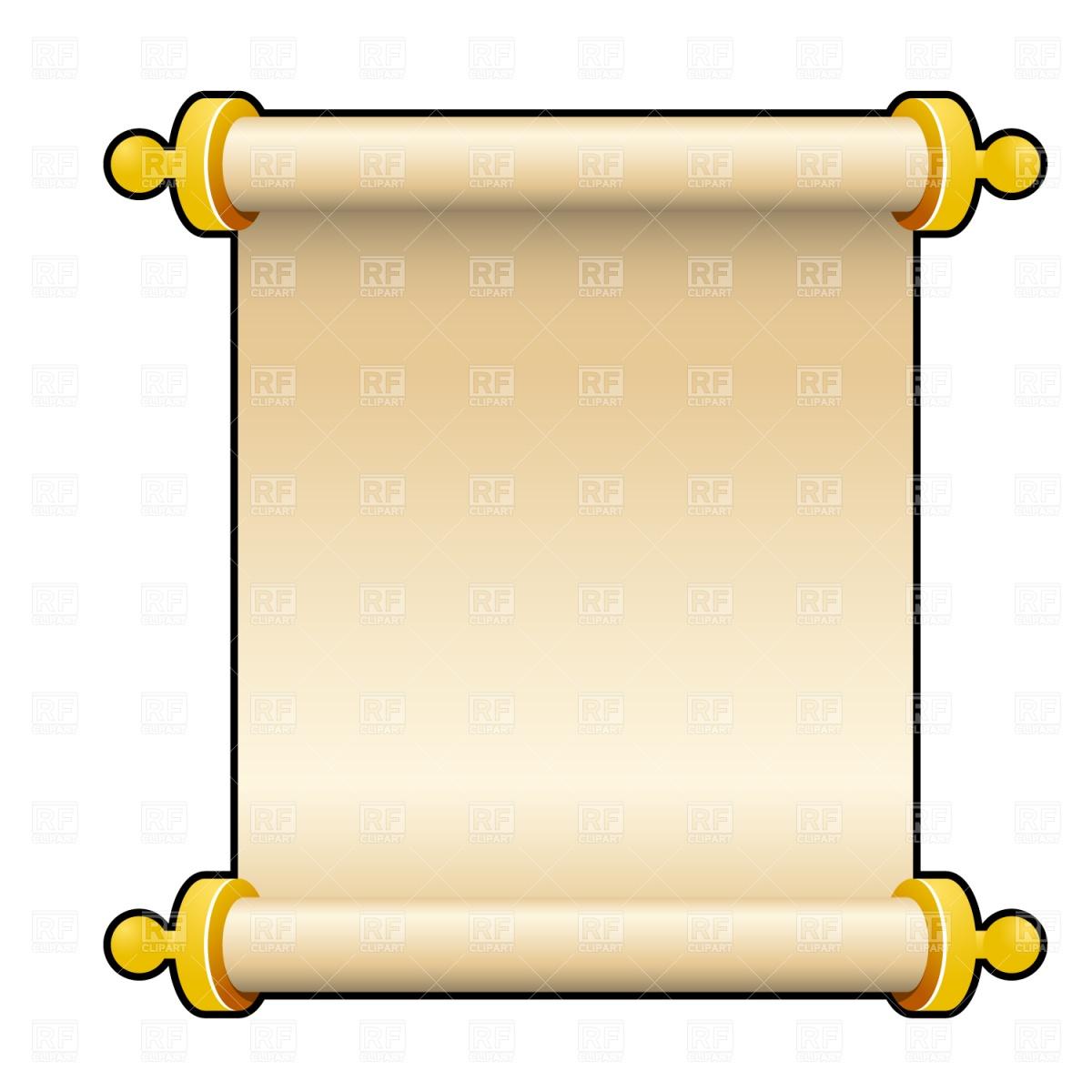 1200x1200 Clip Art Scroll