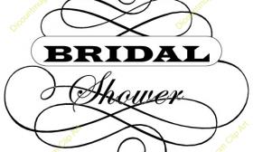 280x168 Bridal Shower Clip Art Free