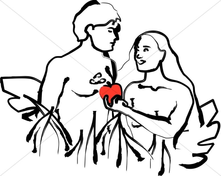 776x618 Top 87 Adam And Eve Clip Art