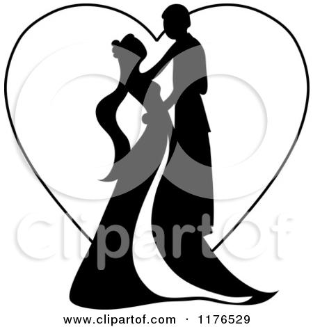 450x470 Double Hearts Wedding Clipart