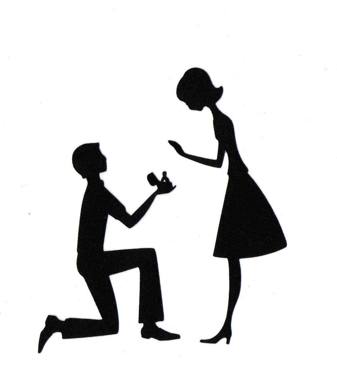 1086x1185 Free Bride And Groom Silhouette Clip Art
