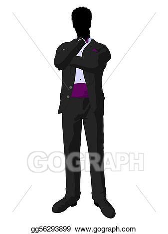 337x470 Groomsmen Silhouette Clip Art