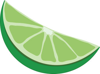 350x258 Clip Art Picture Of A Lime Wedge