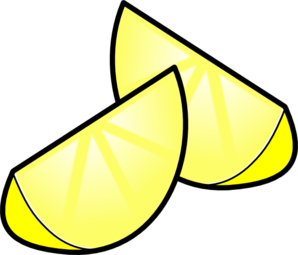 298x255 Lemon Clipart Lemon Wedge