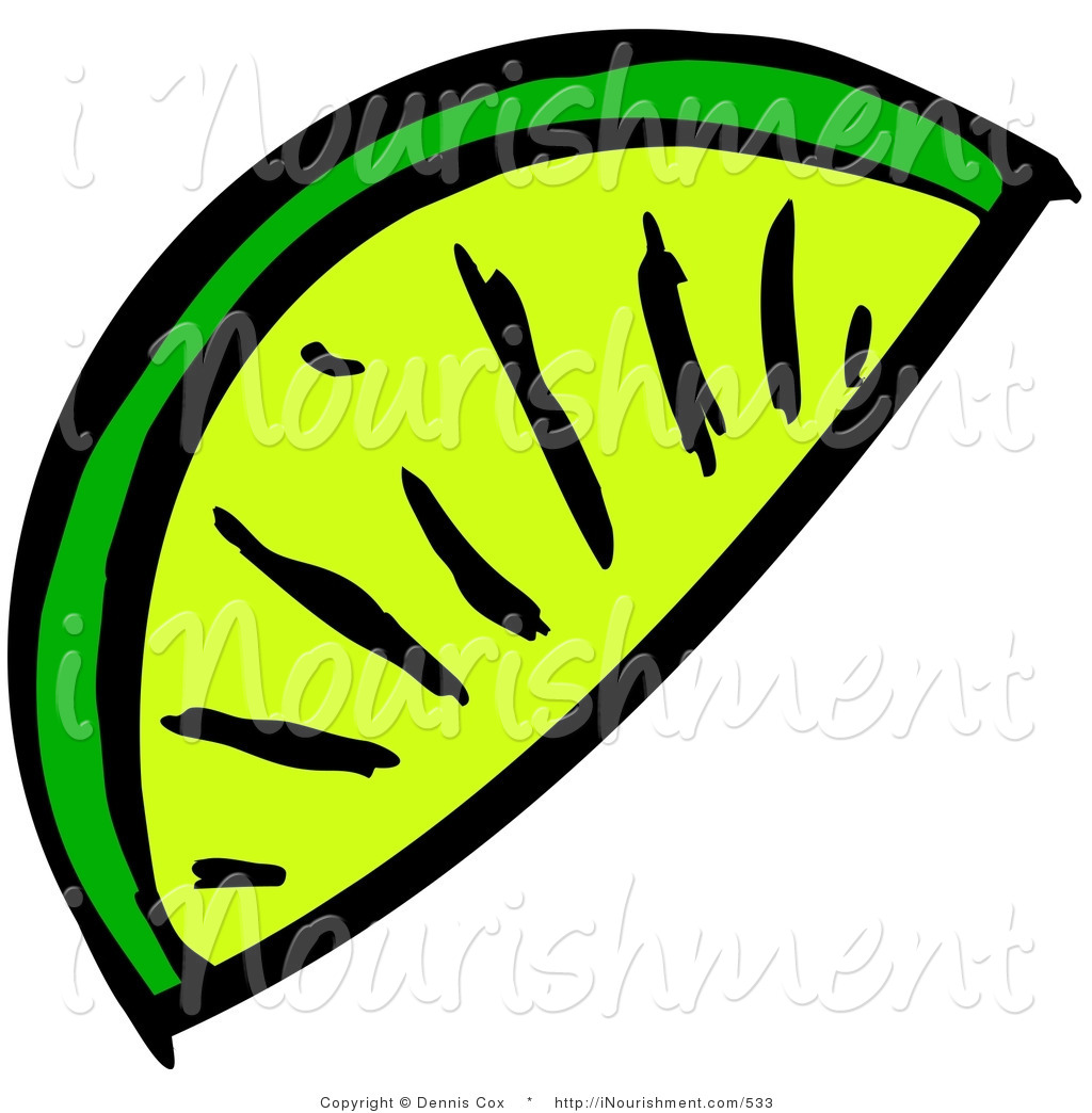 1024x1044 Lime Wedge Clipart
