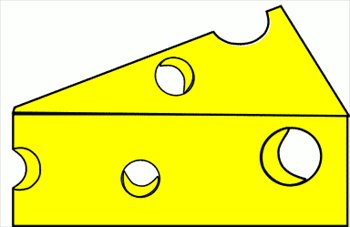 350x227 Cheese Wedge Clip Art