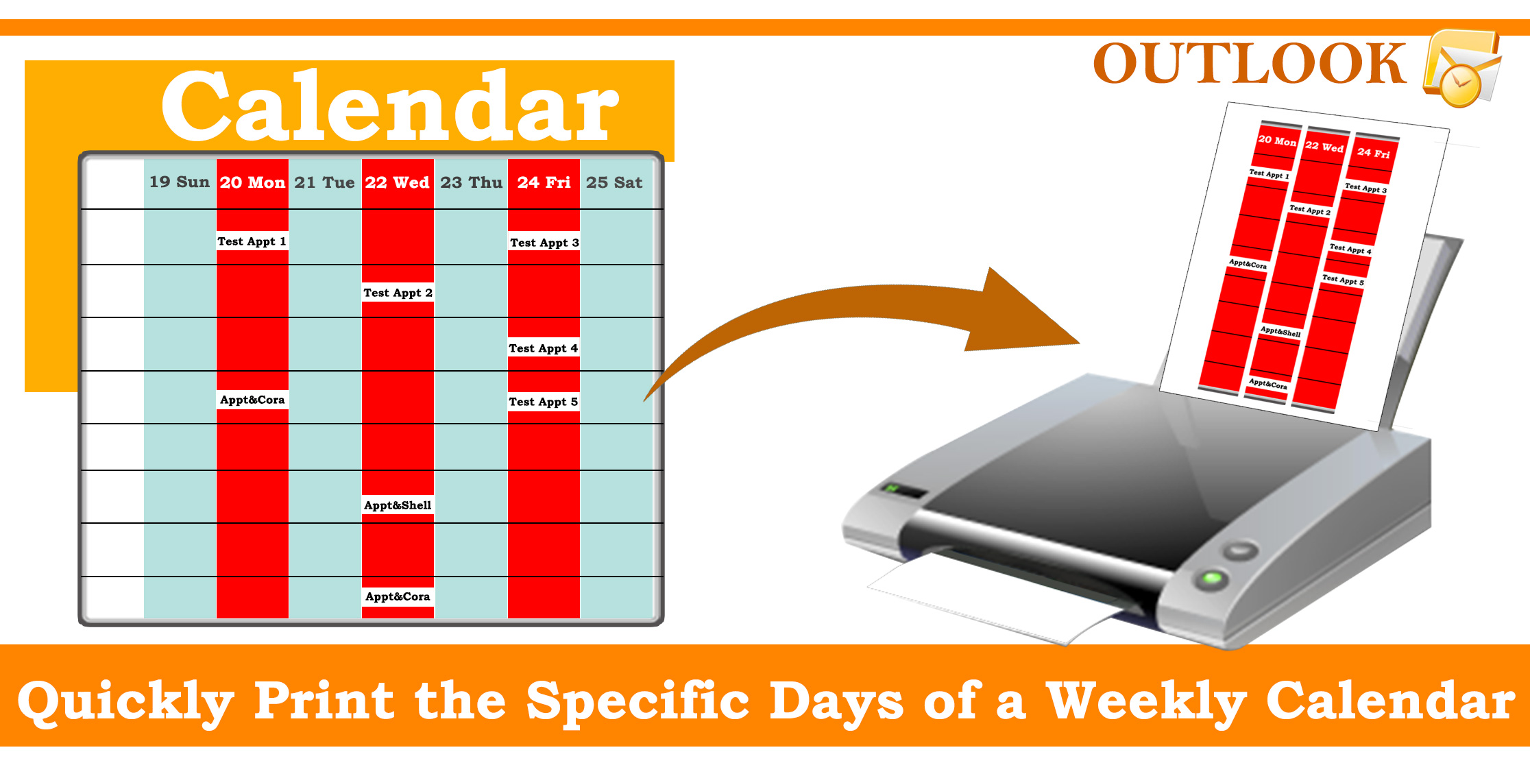 2232x1113 How To Quickly Print The Specific Days Of A Weekly Calendar