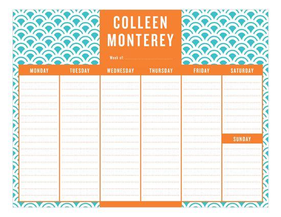 550x424 The Best Calendar Pad Ideas To Do List Pad