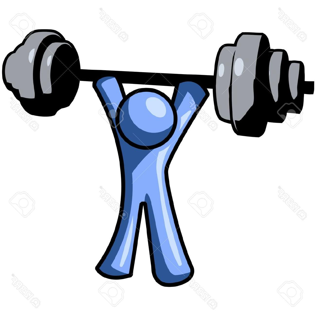 1300x1300 Best 15 Blue Man Lifting Weights Clipart Drawing