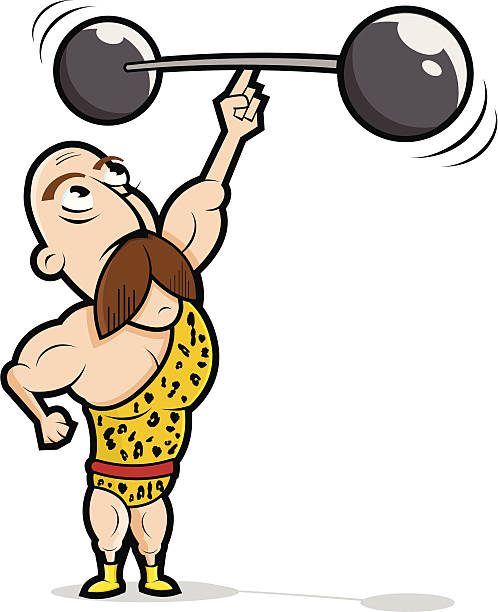 498x612 Circus Clipart Weightlifter