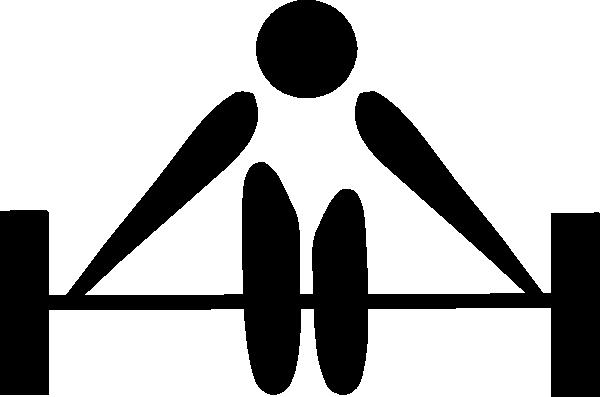 600x397 Olympic Weightlifting Logo Clip Art