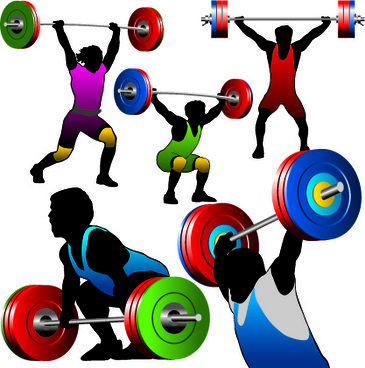 365x368 Vector Weightlifting Powerlifting Free Vector Download (22 Free