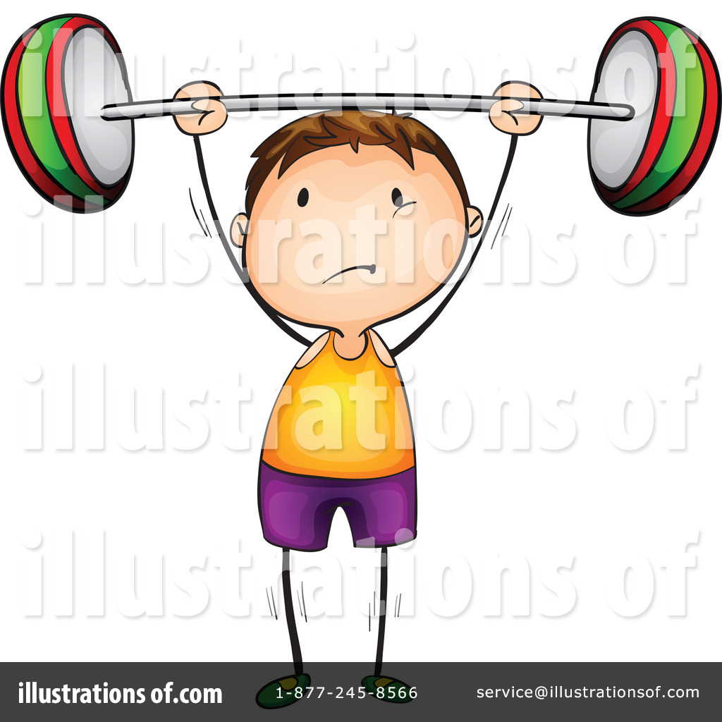 1024x1024 Weightlifting Clipart