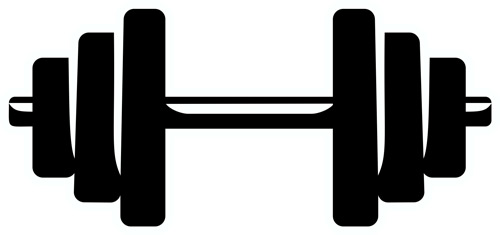 500x235 Weightlifting Amp Fitness Layout Amp Clip Art Transfer Express