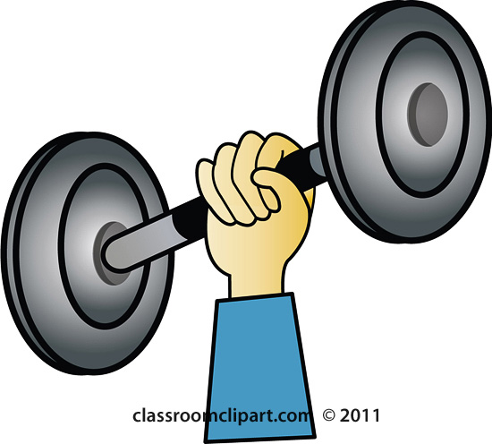 550x496 Weights Clipart