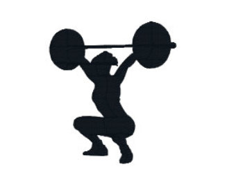 340x270 Women Clipart Weightlifter