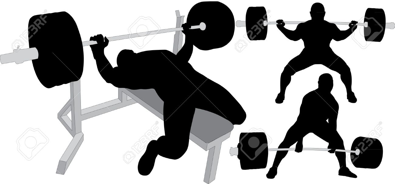 1300x605 Bench Clipart Weight Lifting