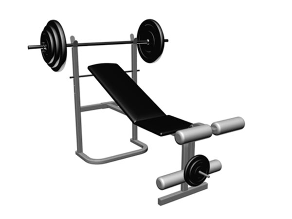600x450 Bench Clipart Weight Lifting