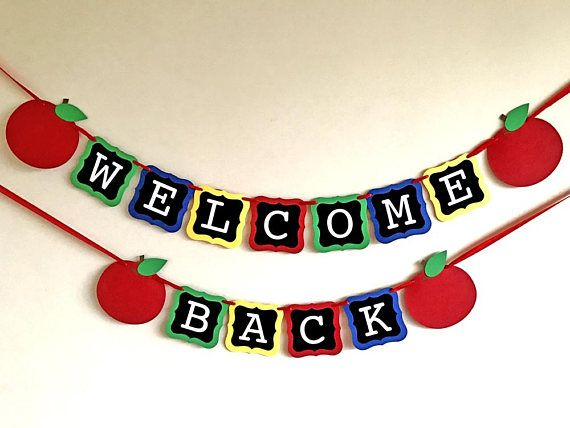 570x428 Best Welcome Back Sign Ideas Teacher Welcome