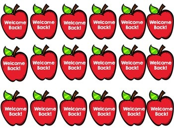 350x263 Welcome Back Swag Tags (Back To School) Brag Tags By Teaching