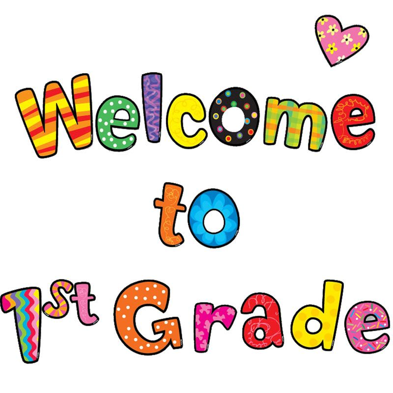 800x800 Welcome To Grade Bulletin Board Letters