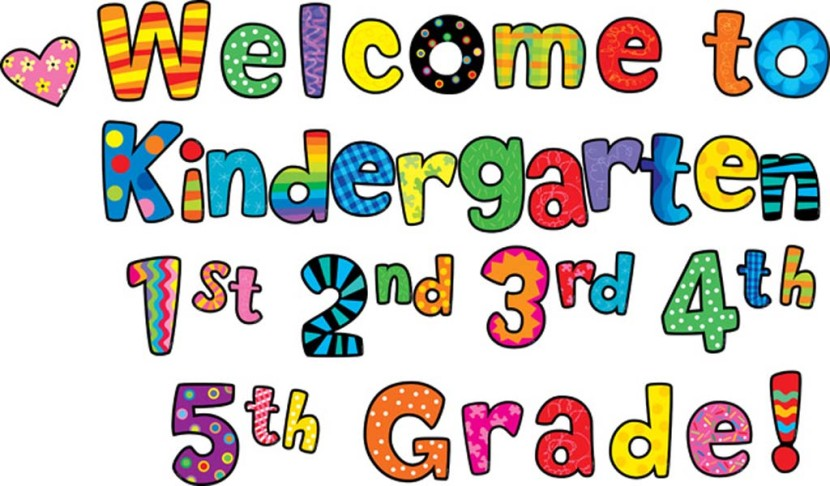 830x486 Welcome Back To Kindergarten Clipart