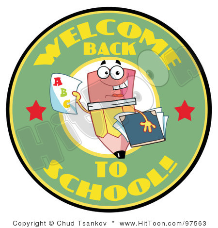 450x470 Free Welcome Back To School Clipart