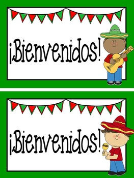 263x350 Free Welcome Back To School Postcards In Spanish {Editable} Tpt