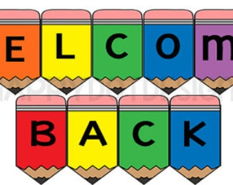 340x270 Welcome Back Banner Printable Free
