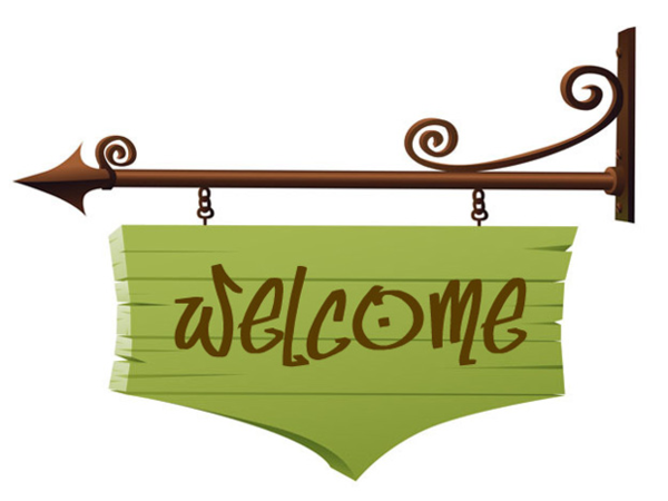 600x450 Welcome Back Signs Clipart