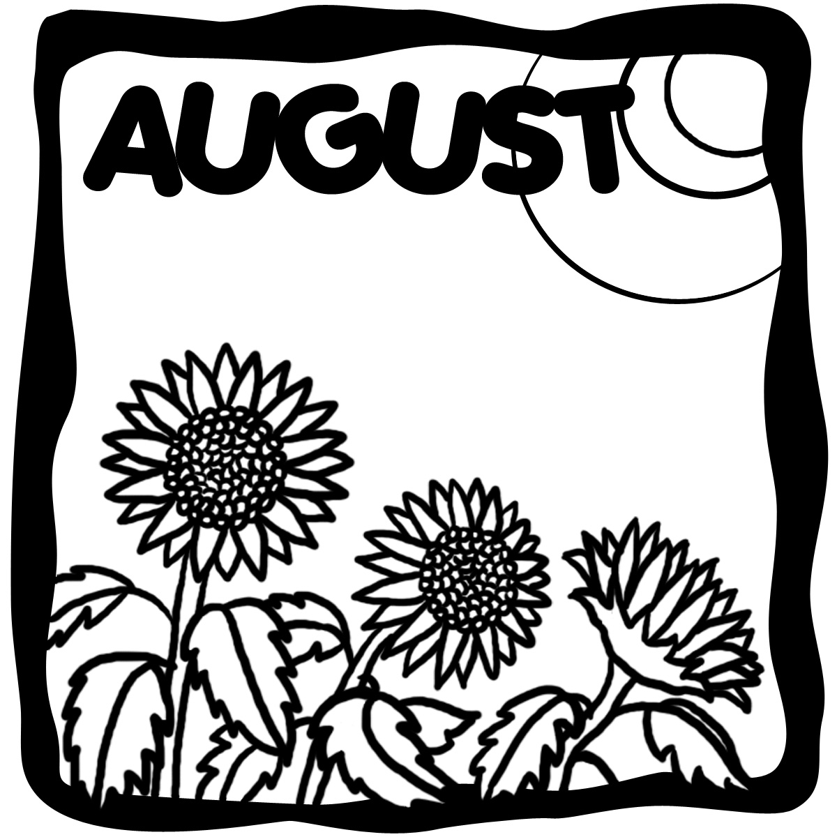 1200x1200 August Welcome Back To School Clipart Image