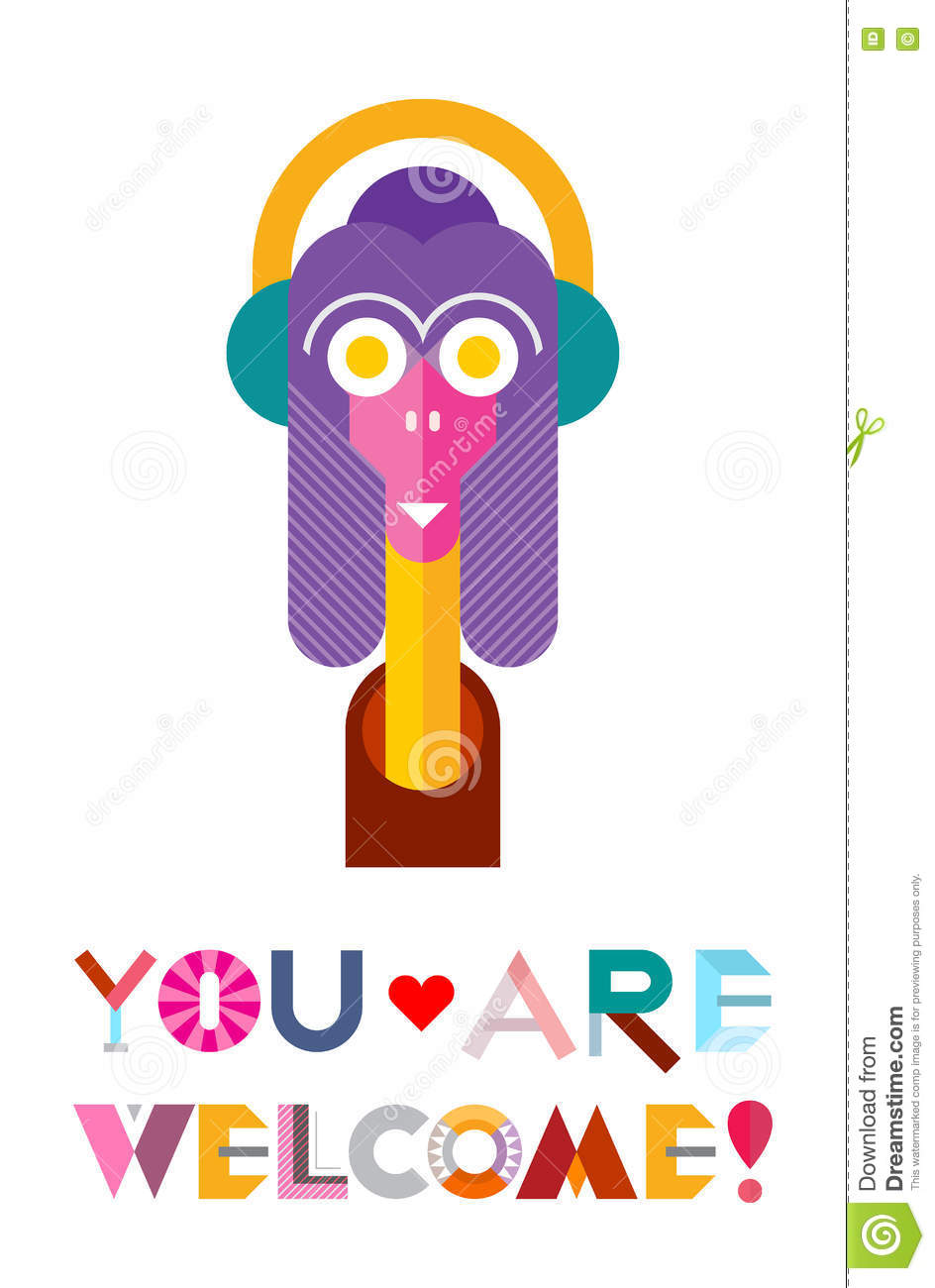 944x1300 You Are Welcome Funny Clipart