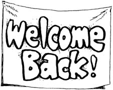 225x180 Welcome Back Sign Clipart