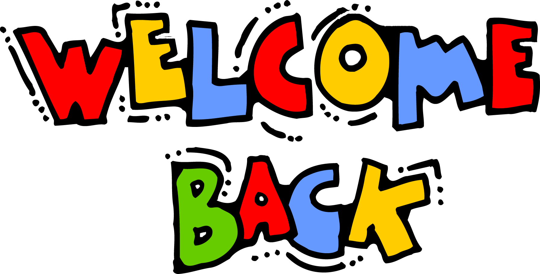 1792x909 Welcome Back To Work Clipart