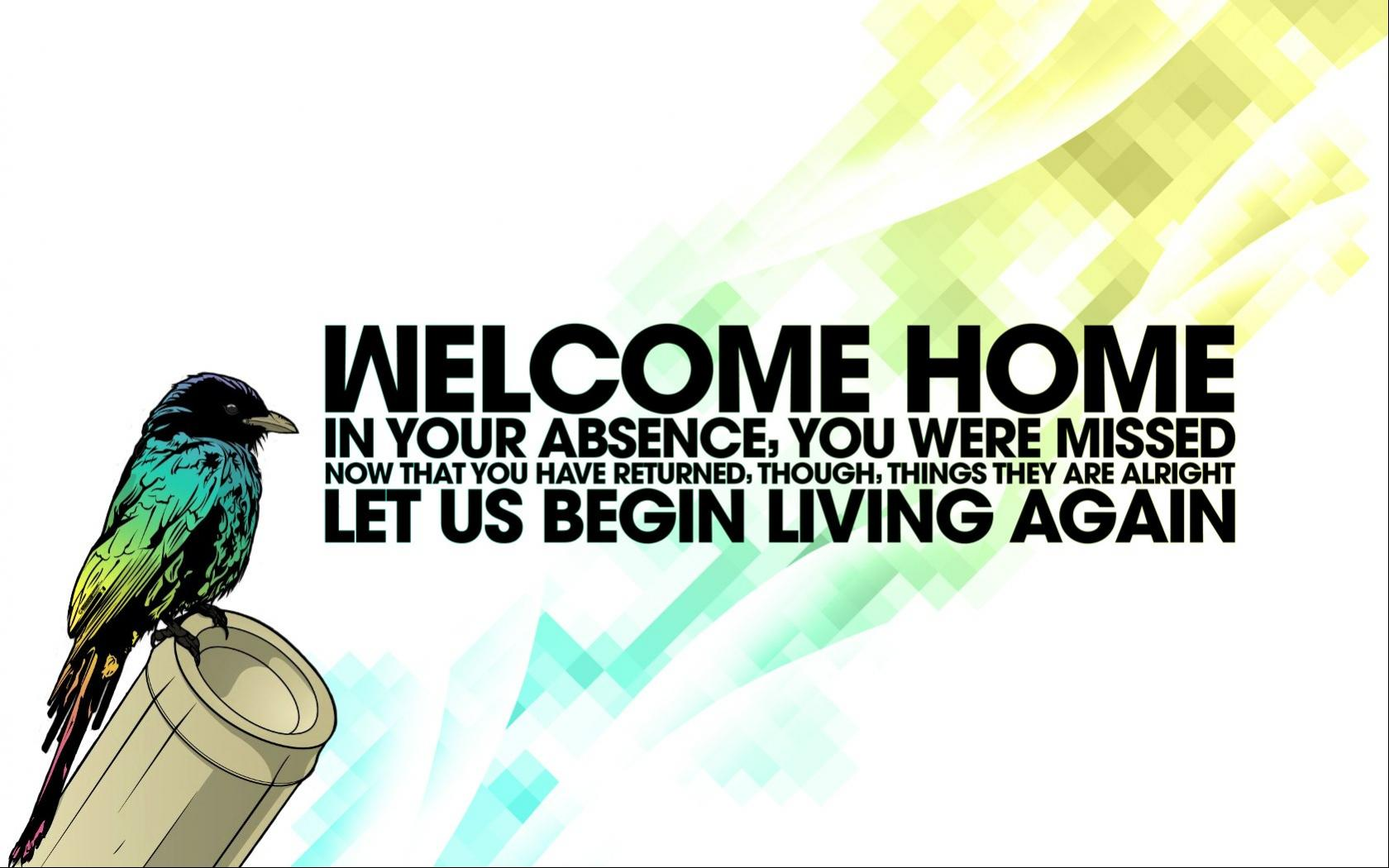 1680x1050 Welcome Home Cool Wallpapers