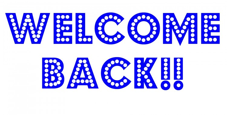 750x380 Welcome Back Signs