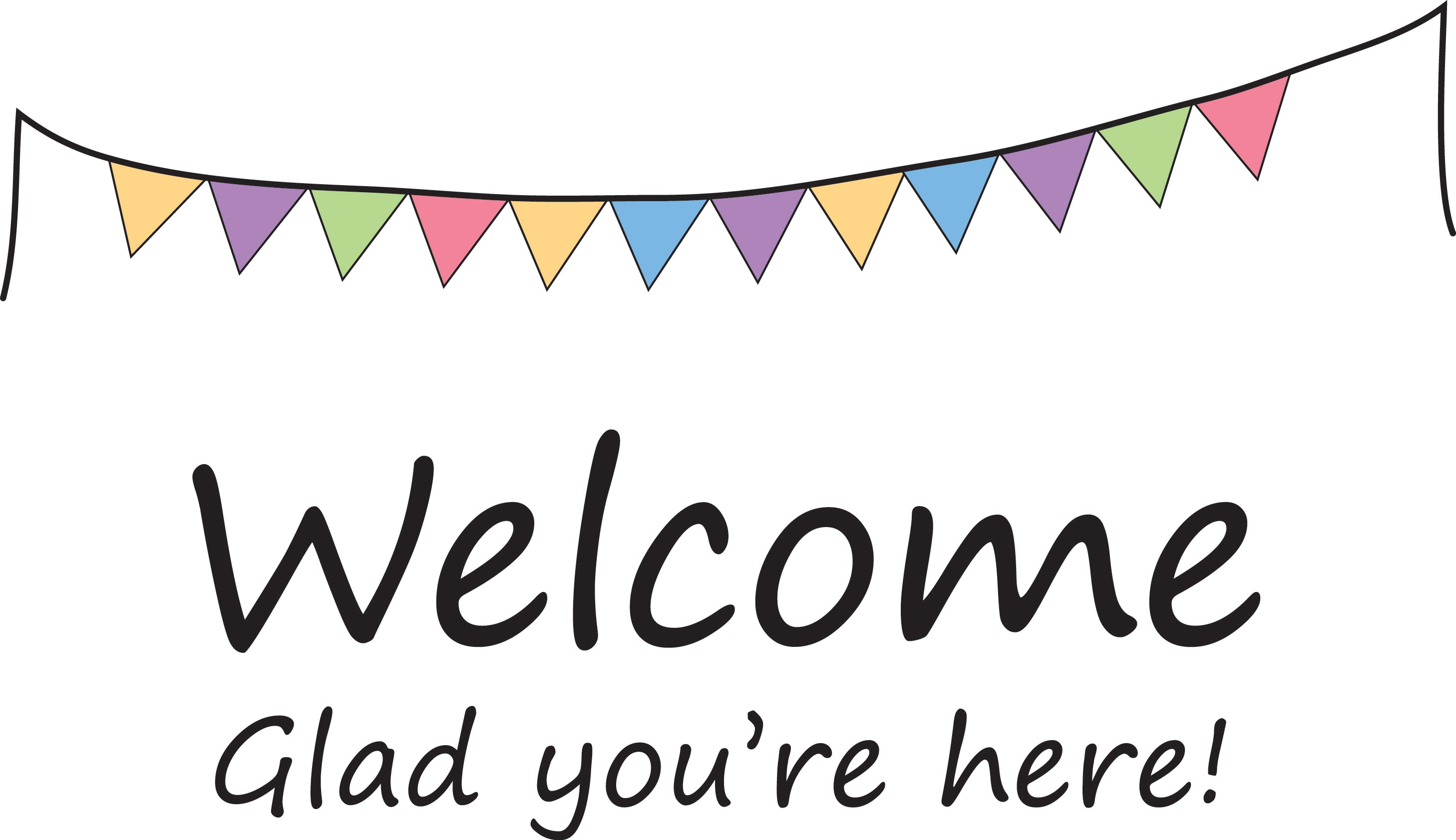 picture relating to Free Printable Welcome Banner known as Welcome Banner Clipart Cost-free obtain suitable Welcome Banner