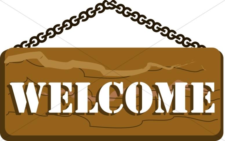 776x489 Church Camp Welcome Sign Church Word Art