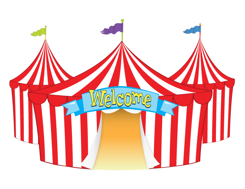 792x612 Fair Tent Clip Art Welcome Tent Funfair Tents