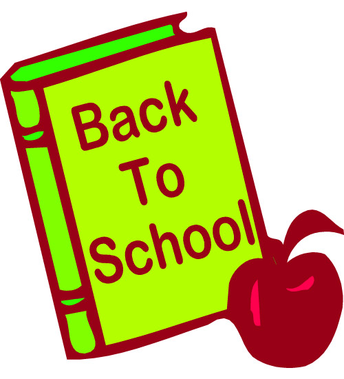 500x550 Free Welcome Back to School Clipart (62+)