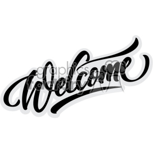 300x300 Royalty Free welcome svg cut files 403706 vector clip art image