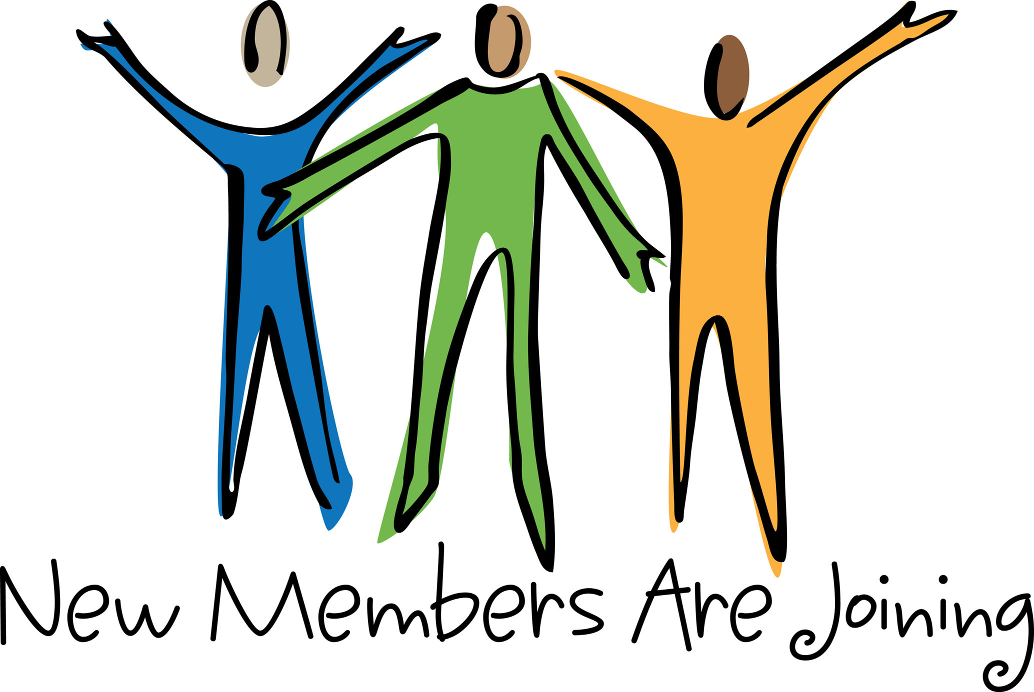 2068x1385 Welcome New Members Clipart