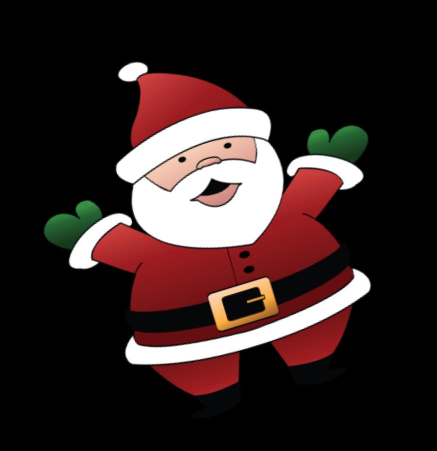 873x902 Santa Clipart