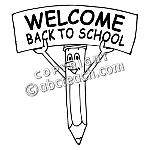 300x300 Welcome Back To School Banner Clip Art