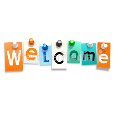 400x400 Welcome Clip Art Animation Clipart